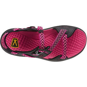 Keen Maupin Sandaalit Naiset, black/very berry